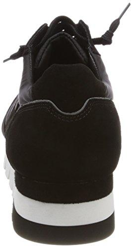Sohle Schmenger schwarz Weiß Kennel Donna Lion Und schwarz Sneaker Schuhmanufaktur Schwarz 5xq48BF