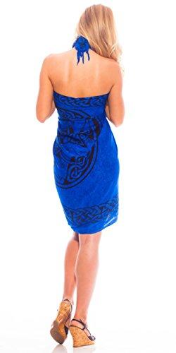 Mundo azul o mujeres Sarong Cubierta de Sarongs para real Caballo ba celta 1 xtwPYwHq