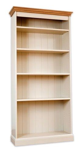 Avana Gestrichene Möbel Bücherregal, hoch, Eiche