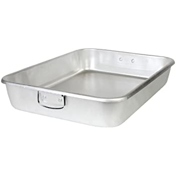 Thunder Group 18 x 24 x 4.5 Inch Double Roaster, No Cover