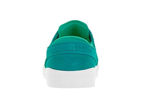 NIKE Herren Stefan Janoski Hyperfeel Skateschuh Rio Teal / Weiß / Hyper Jade / Volt