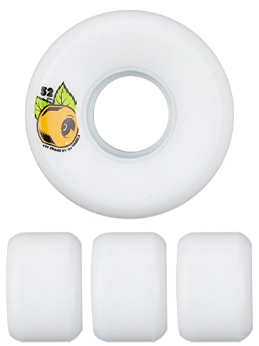 OJ III Skateboard Wheels 54mm Plain Jane Keyframe V2 87A Whi
