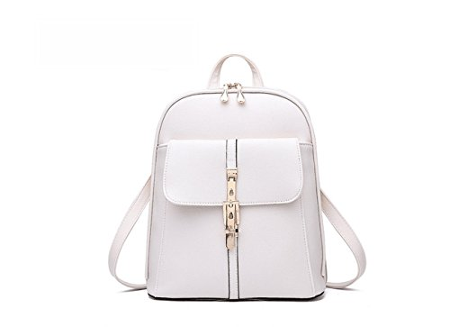 LANFIRE - Bolso mochila  para mujer blanco