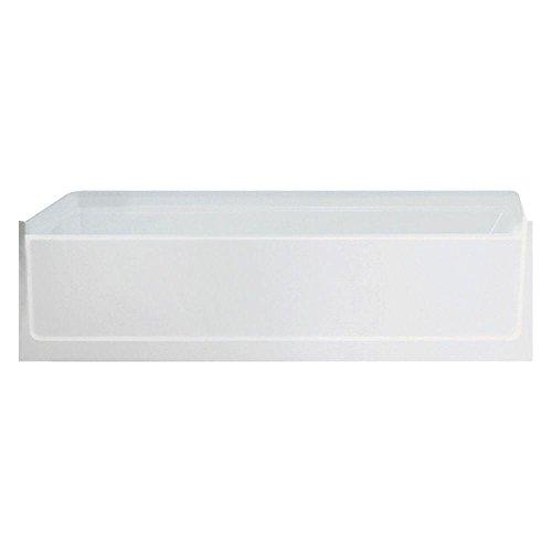 Sterling/Vikrell Left Hand Tub and Shower, Swirl Gloss #61031110-0 (Swirl Vikrell)
