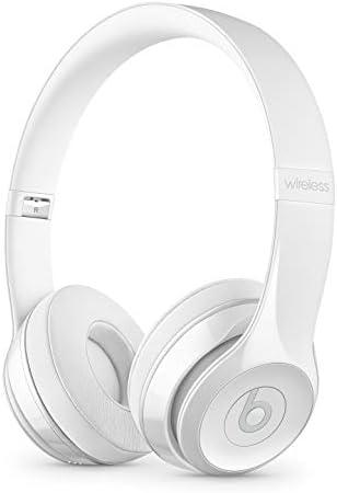 Beats Solo3 Wireless On-Ear Headphones – Gloss White Renewed