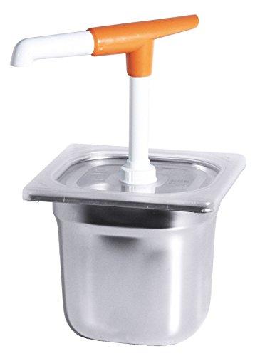 Tapa con agujero para dispensador de salsas