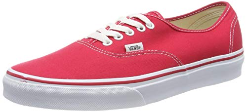 Vans Authentic(tm) Core Classics, Red, Men's 7.5, Women's 9 Medium