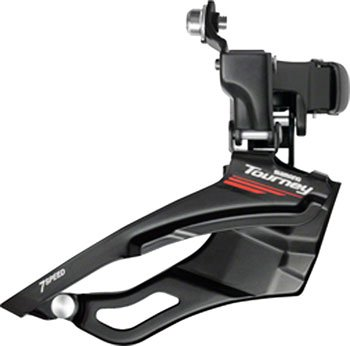 Shimano Tourney A073 7-Speed Triple Front Derailleur ()