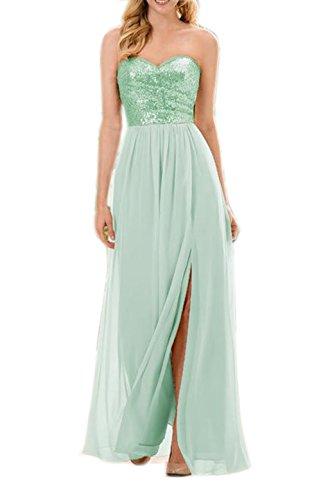 Engerla - Vestido - trapecio - Sin mangas - para mujer Verde