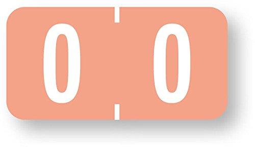 United Ad Label Numeric File Folder Label - Tab 1277 Compatible, 1