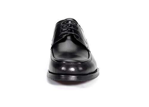 Punta 45 A Vestito Scarpe Oxfords Up Lavoro Formale Affari Nero Nozze Pelle 38 Punta Uomo Lace Taglia Black Appartamento Shoes HN Festa CRqp6O