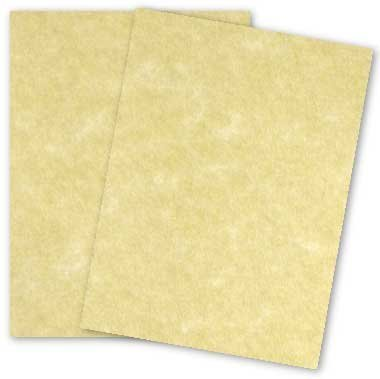 Astroparche Ancient Gold Paper - 11 x 17 in 60 lb Text Vellum 30% Recycled 50 per pack (Recycled 30% Finish Vellum)