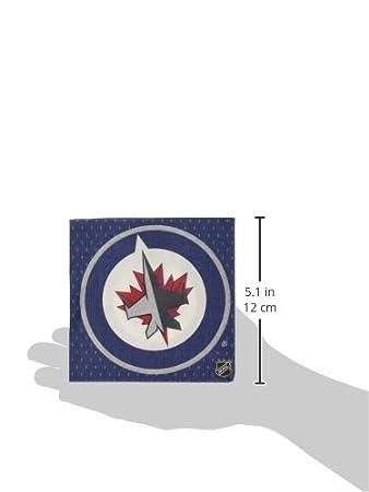 TradeMart Inc Amscan Edmonton Oilers Collection Beverage Napkins 96 Ct 503813