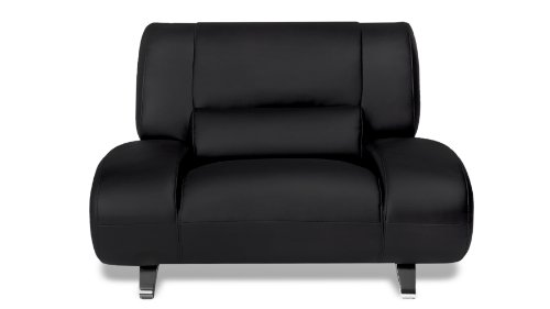 Black Aspen Leather Chair