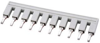 Jumper Bar - WAGO 2002-410 TERMINAL BLOCK JUMPER BAR, 10WAY, 5.2MM
