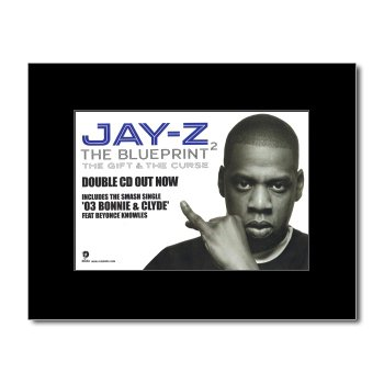 Amazon jay z blueprint 2 mini poster 21x135cm prints jay z blueprint 2 mini poster 21x135cm malvernweather
