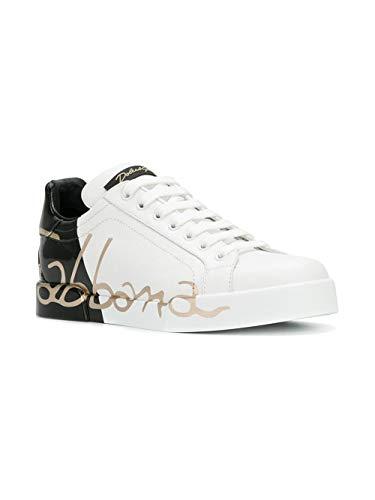 Weiß Gabbana Blanc Baskets Eu Femme Pour E Dolce Y68pnFqPq