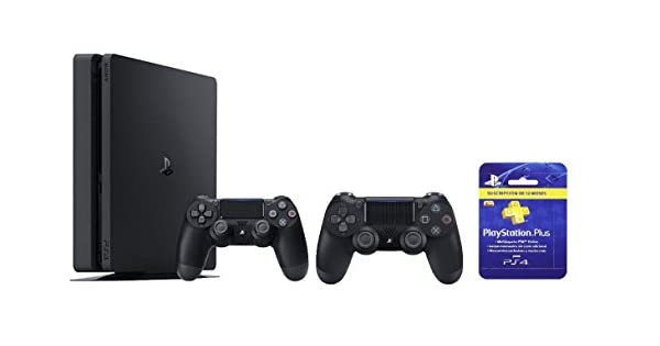 PlayStation 4 (PS4) - Consola Slim 1 TB + Sony - DualShock 4 ...