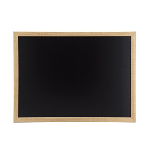 U Brands Chalkboard, 23 x 17 Inches, Oak -