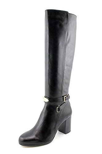 ee856322d2c5 Michael Michael Kors Women s Arley Stretch Boot Black Leather 9.5 ...