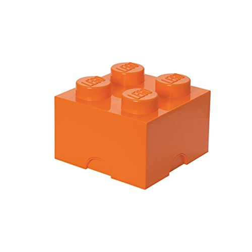 LEGO Storage Brick 4 Bright Orange