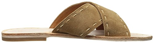 Sandal Pickstitch Slide FRYE Avery Tan Women Flat B7gOqWqAw