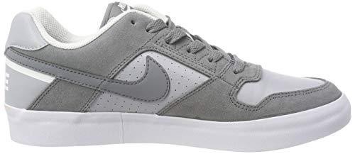 Gris De Grey wolf white Force cool Grey Hombre Sb Zapatillas 001 Vulc Grey Delta Skateboard cool Para Nike wqXx4zp6