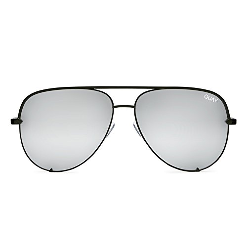 Quay Australia HIGH KEY Women's Sunglasses Classic Oversized Aviator - - Sunglasses Quay Mens