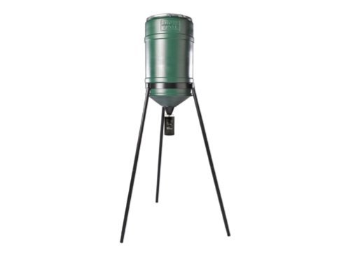 On Time 32-Gallon Tripod w/ Elite Lifetime Feeder ()