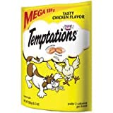 TEMPTATIONS Classic Treats for Cats Tasty Chicken Flavor 6.3 Ounces