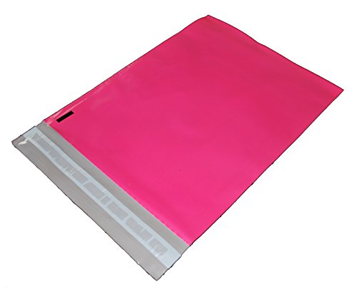 100 10x13 HOT PINK Poly Mailers Shipping Envelopes Bags