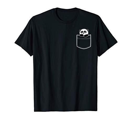 The Panda Bear in the Pocket T-shirt -