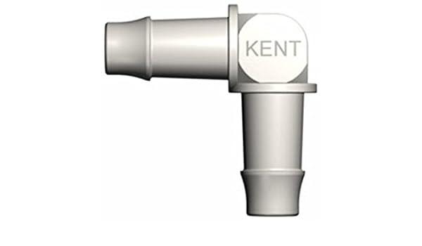 90 Degree Elbow Kent Systems EFN220-N01 White Nylon Tube Fitting 5//16 Barbed