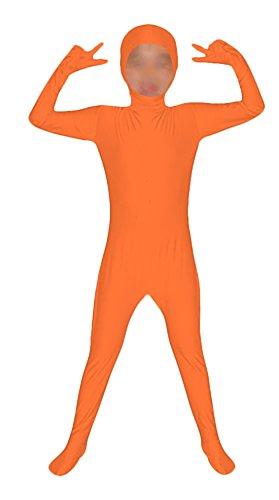 Seeksmile Kids Costume Full Body Lycra Zentai Suit Face Open (Kids Large, -