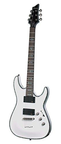 (Schecter Hellraiser C-1 Electric Guitar (Gloss White))