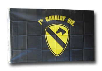 First Cavalry  - 3' x 5' Polyester Military Flag