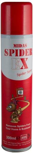 QED Ltd Midas Spiderex Spider Repellent Aerosol Spray for CCTV Cameras