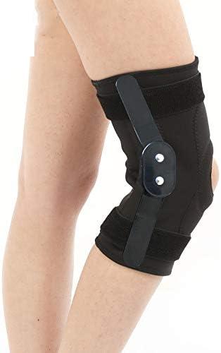 He-shop Knieorthesen für Frauen und Männer, Beste Kniestütze zur Stabilisierung der Patella bei Arthritis, Sport, verstellbar XL