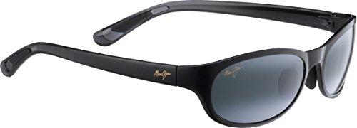 Trail Jim Pipiwai Black Polarized Sunglasses Shiny Maui 7TqxRCvC