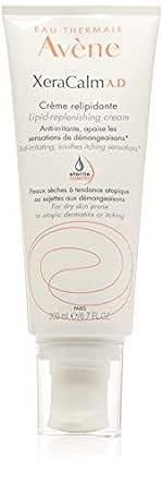 Eau Thermale Avene XeraCalm A.D Lipid-Replenishing Cream, Atopic Dermatitis, Eczema-Prone, No Preservatives, Fragrance-Free, Pump