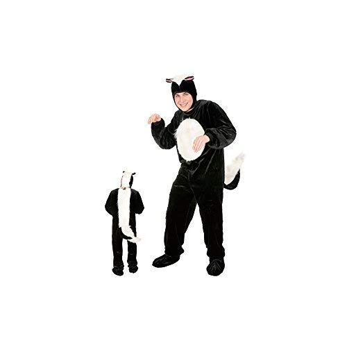 Charades Skunk Costume for Adult