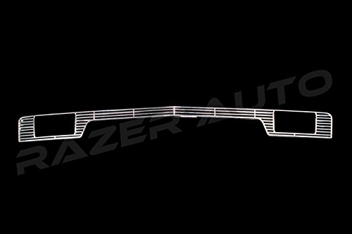 2014-2015 Chevy Silverado 1500 Chrome ABS Bumper Grille (With tow hooks)