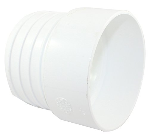 Canplas 414444BC PVC Sew 4X4 Pipe Adapter