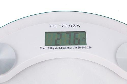 Azorro Precision Digital Bath Scale 400 Lbs Edition High Accuracy Premium Body Weight Scale
