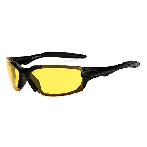 TL-Sunglasses Gafas de Sol Gafas de Sol polarizadas Polaroid paraviento Gafas de Espejo UV400 Gafas Gafas de Sol para Hombres Mujeres,KP1022 C3: Amazon.es: ...
