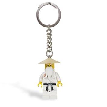 Amazon.com: LEGO Ninjago Keychain #853101 Sensei Wu: Toys & Games