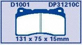 EBC Brakes DP31210C Redstuff Ceramic Brake Pads