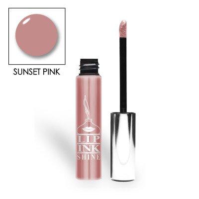 LIP INK Natural Lip Gloss Moisturizer, Sunset - Mix Skins Sts