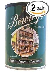 Bewley's 2 Cans of Irish Cream Ground Coffee 12oz