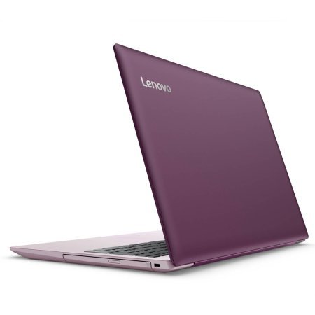 Lenovo Ideapad 320 15.6 inch HD High Performance Laptop PC, Intel Celeron N3350 Dual-Core, 4GB RAM, 1TB HDD, Bluetooth 4.1, WIFI, DVD RW, Windows 10 (Plum Purple)